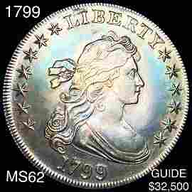 1799 Draped Bust Dollar UNCIRCULATED