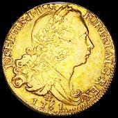 1761 Portugal Gold 4 Escudos ABOUT UNCIRCULATED