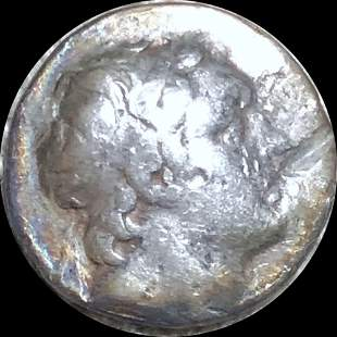 95-63 BC Ancient Greece Silver Drachm NICELY CIRC