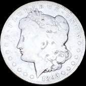 1893-CC Morgan Silver Dollar NICELY CIRCULATED