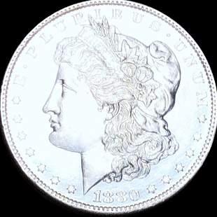 """1880-O """"MICRO O"""" Morgan Silver Dollar UNC"""