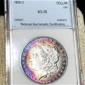 1899-O Morgan Silver Dollar NNC - MS65