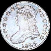1822 Capped Bust Half Dollar XF
