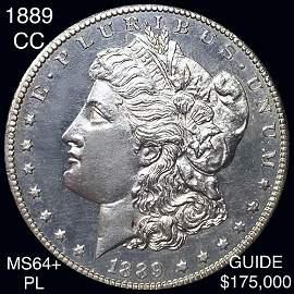 1889-CC Morgan Silver Dollar CHOICE BU PL