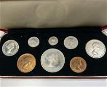 1953 United Kingdom 8 Coin Set PROOF/UNC