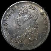 1807 Capped Bust Half Dollar XF+
