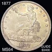 1877 Silver Trade Dollar CHOICE BU