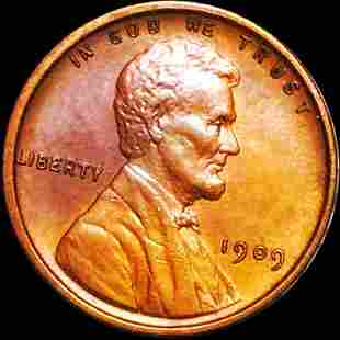 1909 Lincoln Wheat Penny UNCIRCULATED