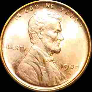 1909-S Lincoln Wheat Penny UNCIRCULATED