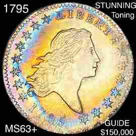 1795 Flowing Hair Half Dollar CHOICE BU