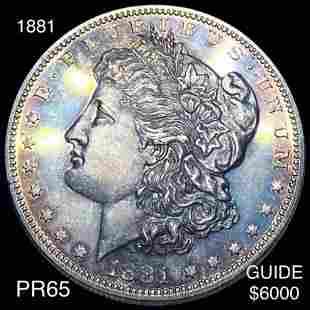 1881 Morgan Silver Dollar GEM PROOF