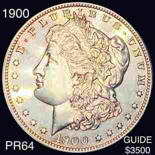 1900 Morgan Silver Dollar CHOICE PROOF
