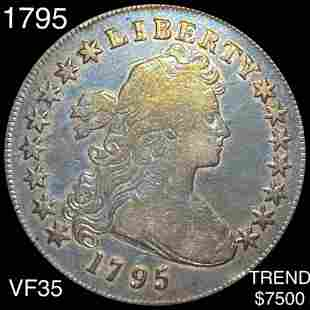 1795 Draped Bust Dollar LIGHTLY CIRCULATED