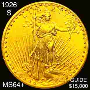 1926-S $20 Gold Double Eagle CHOICE BU