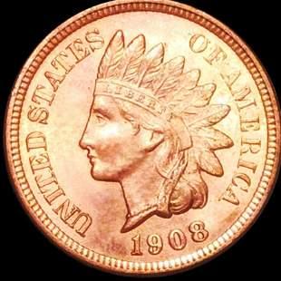 1908 Indian Head Penny UNCIRCULATED