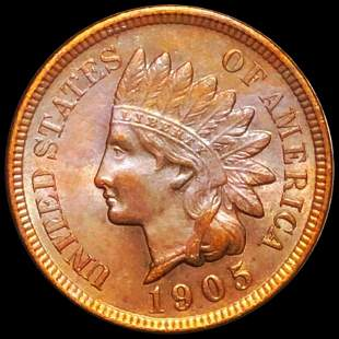 1905 Indian Head Penny UNCIRCULATED