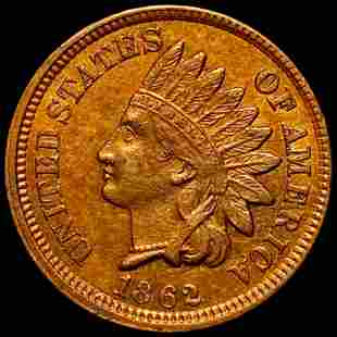 1862 Indian Head Penny UNCIRCULATED