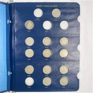 1883-1912 Victory Nickel Book HIGH END 31 COINS