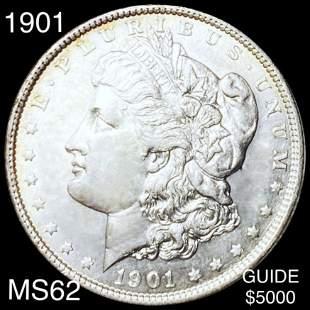 1901 Morgan Silver Dollar UNCIRCULATED
