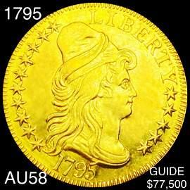 1795 $10 Gold Eagle CHOICE AU
