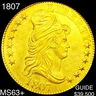 1807 $10 Gold Eagle CHOICE BU