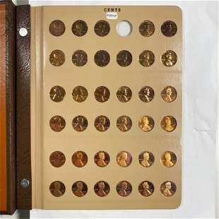 1950-Present 1C/5C/10C Proof Book GEM 185 COINS