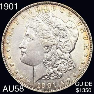 1901 Morgan Silver Dollar CHOICE AU