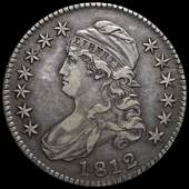 1812 Capped Bust Half Dollar XF+