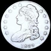 1835 Capped Bust Half Dollar XF