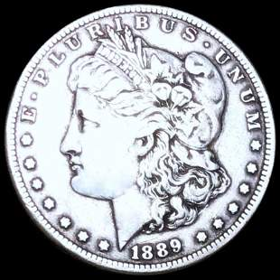 1889-CC Morgan Silver Dollar NICELY CIRCULATED