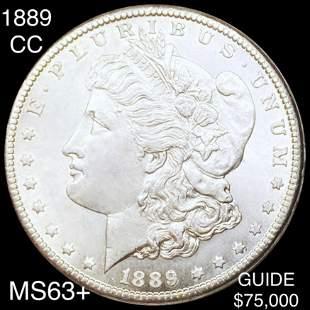 1889-CC Morgan Silver Dollar CHOICE BU