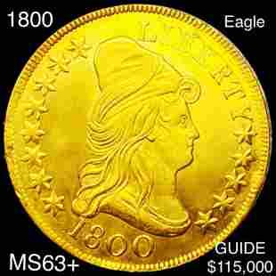 1800 $10 Gold Eagle CHOICE BU