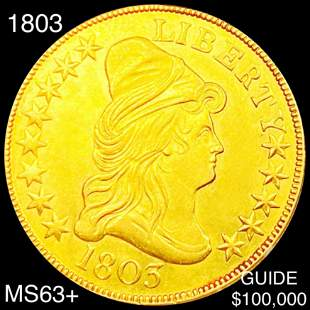 1803 $10 Gold Eagle CHOICE BU