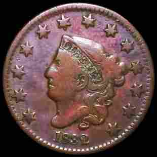 1832 Coronet Head Large Cent NICELY CIRCULATED