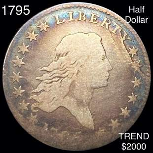 1795 Flowing Hair Half Dollar NICELY CIRCULATED