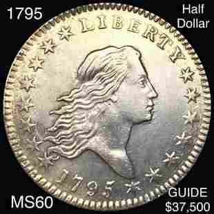 1795 Flowing Hair Half Dollar UNCIRCULATED