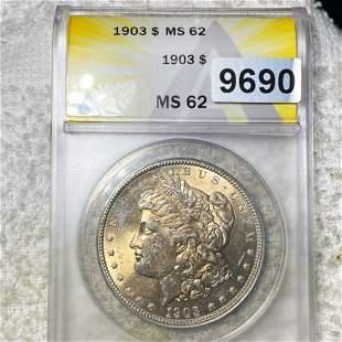 1903 Morgan Silver Dollar ANACS - MS62