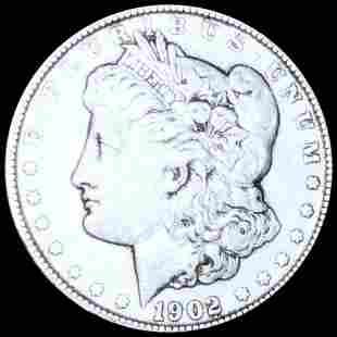 1902 Morgan Silver Dollar NICELY CIRCULATED