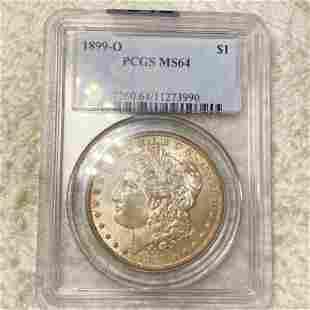 1899-O Morgan Silver Dollar PCGS - MS64