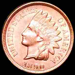 1890 Indian Head Penny UNCIRCULATED