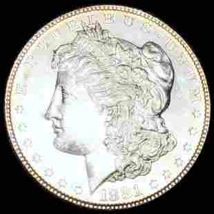 1881-S Morgan Silver Dollar UNCIRCULATED
