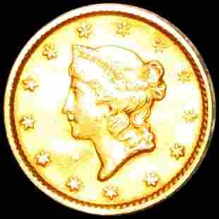 1851 Rare Gold Dollar UNCIRCULATED