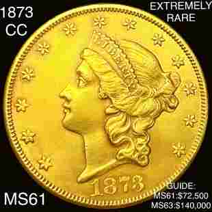 1873-CC $20 Gold Double Eagle UNCIRCULATED