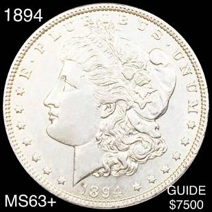 1894 Morgan Silver Dollar CHOICE BU
