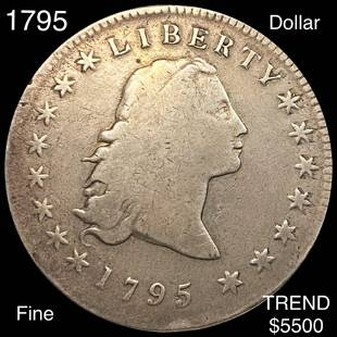 1795 Flowing Hair Dollar NICELY CIRCULATED