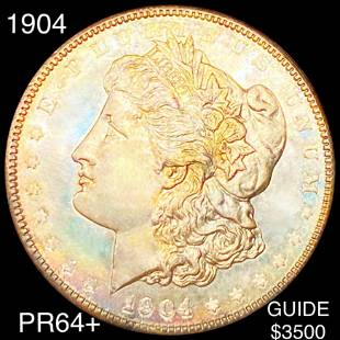 1904 Morgan Silver Dollar CHOICE PROOF
