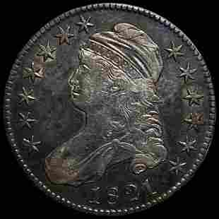 1821 Capped Bust Half Dollar XF+
