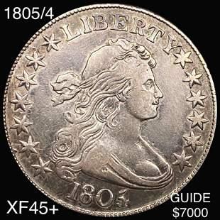 1805/4 Draped Bust Half Dollar LIGHT CIRC