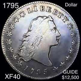 1795 Flowing Hair Dollar LIGHTLY CIRCULATED