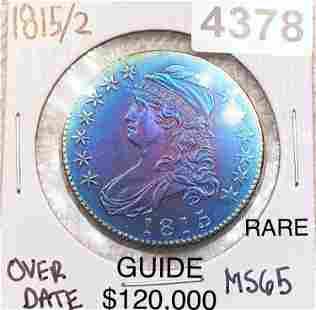 1815/2 Capped Bust Half Dollar GEM BU